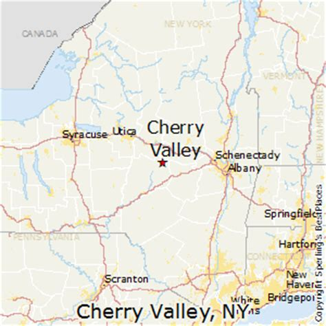 places    cherry valley  york