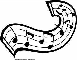 Music notes clipart black and white free clipart 3 ...
