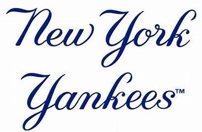 Yankees York Ny Clipart Clip Yankee Word
