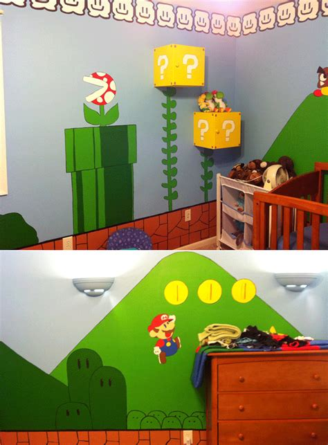 10 Awesome Video Game Themed Bedrooms Room & Bath