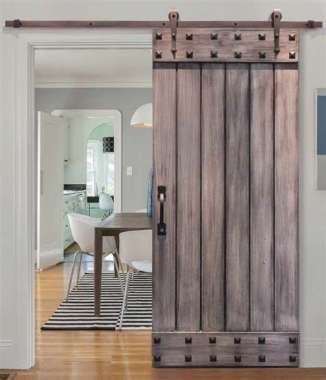 15+ Interior Barn Door Images For Home  New Home Plans Design