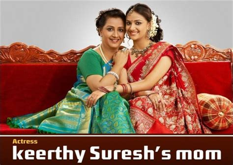 tamil actress keerthi suresh mother photos tamil actress with their mother latest special gallery