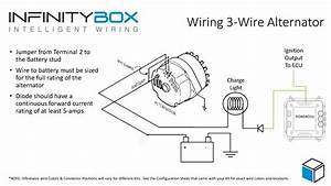 Wiring Diagram For 3 Wire Alternator