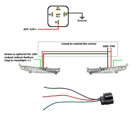 wiring diagram for led daytime running lights wiring diagram for led daytime running lights the wiring