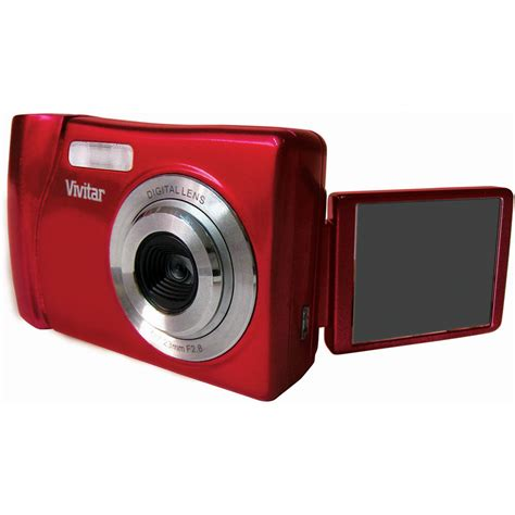 Vivitar ViviCam X018 Digital Camera (Strawberry) VX018 ...