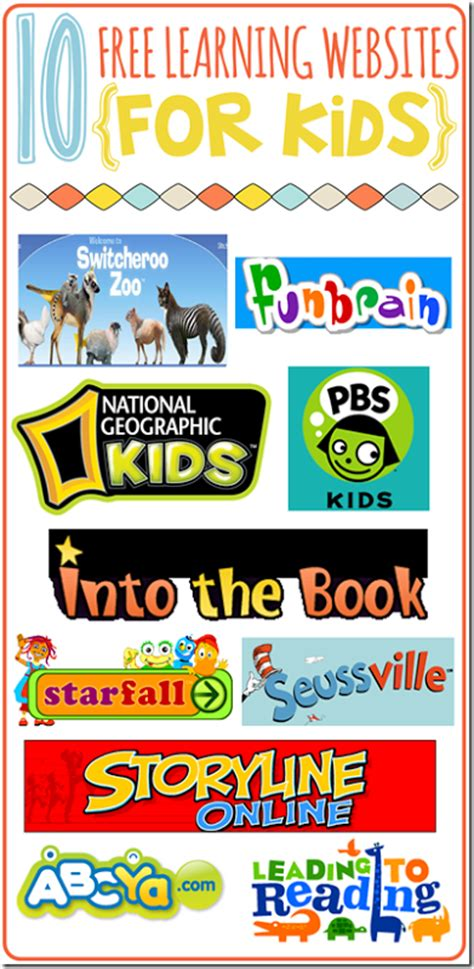 free educational websites 10 free learning websites for kids with free printable listing free homeschool deals