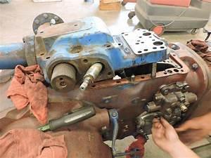 Ford 4600 Hydraulic Removal