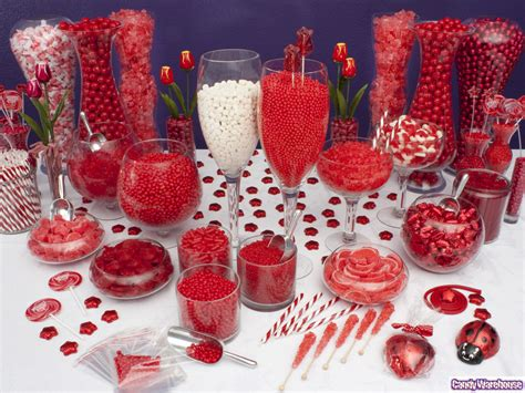 Red Candy Buffet Red The Color Of Passion Is Featured