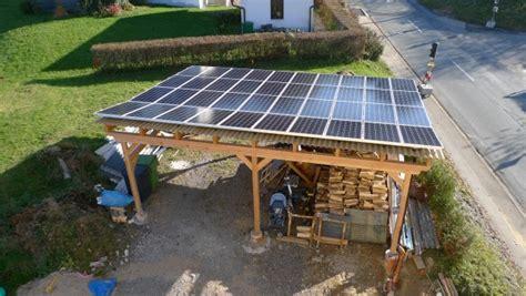Meine Carport Pv Anlage• Photovoltaikforum