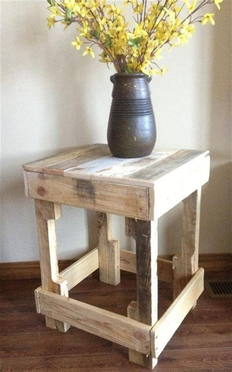 nursery side table ideas 12 diy pallet side tables end tables 101 pallets