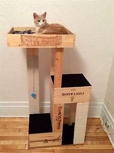 Arbre à Chat Fait Maison : construire un arbre chat diy nos meilleurs conseils ~ Melissatoandfro.com Idées de Décoration