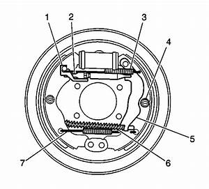Service Manual  2002 Pontiac Aztek Brake Drum Structure