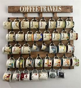 Coffee cup holder coffee cup rack coffee mug rack 40 or 48