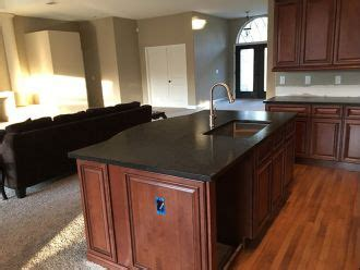 black leather granite countertops