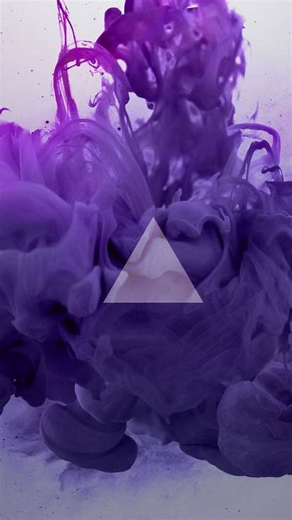 Smoke Backgrounds Trippy Purple Wallpapers Weed Triangle