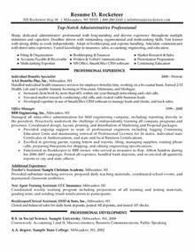 Administrative Professional Resume