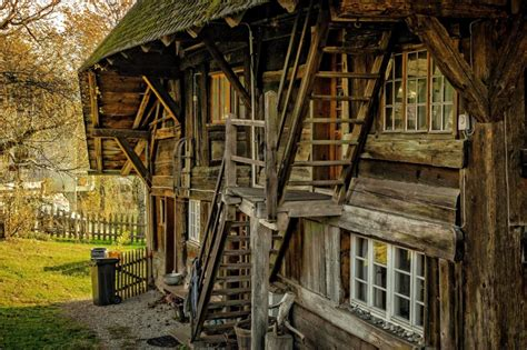 picture  wooden house structure exterior