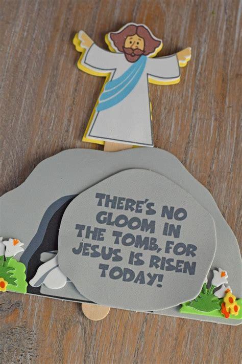 jesus   tomb craft  kids  easter neat