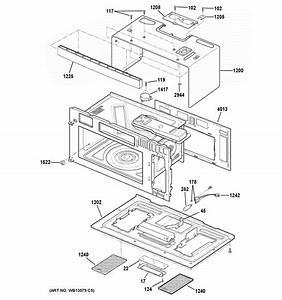 Ge Pvm9179df1bb Microwave  Hood Combo Parts