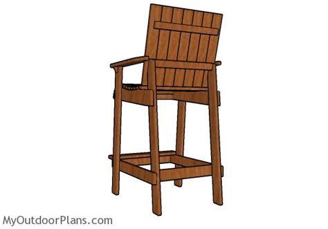 bar height adirondack chairs home ideas