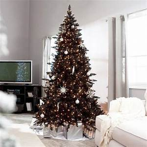 Black And White Christmas Tree Decorating Ideas
