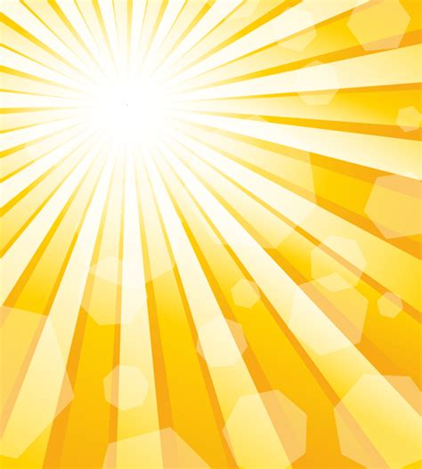 dazzle sunshine background vector