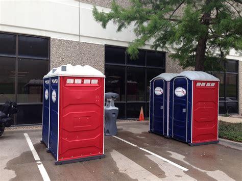 porta potty rentals dallas special event porta potties