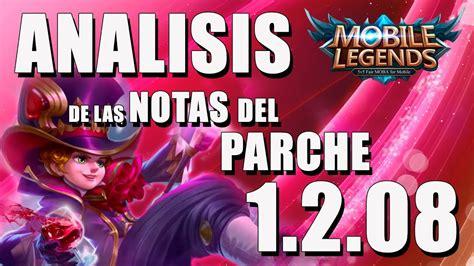 Mobile Legends Analisis Del Parche 1.2.08 Balanceo De