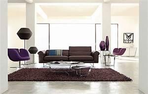 Welche Kissen Zu Rotem Sofa : wohnzimmer ideen mit brauner couch f r ein angesagtes ~ Michelbontemps.com Haus und Dekorationen