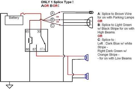Aftermarket Wiring Diagram by Aftermarket Fog Light Question Ford Truck Enthusiasts Forums