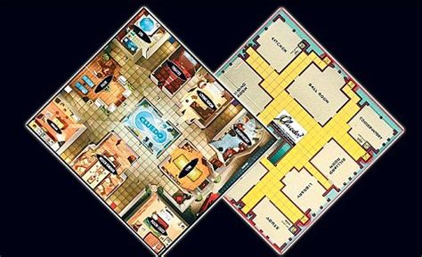 Colonel Mustard killed off by a Wag in the gym: Board game