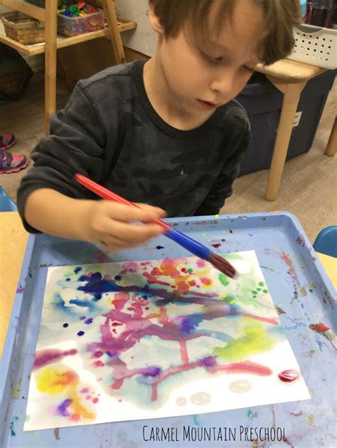 watercolor silhouettes mountain preschool 395 | image005