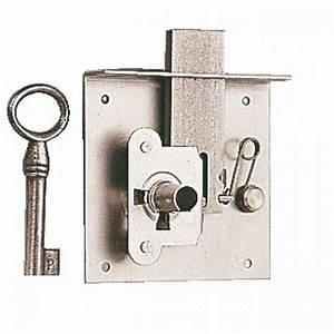Meuble Avec Serrure : serrure entailler pour meuble ou tiroir rustique 70mm bricozor ~ Teatrodelosmanantiales.com Idées de Décoration