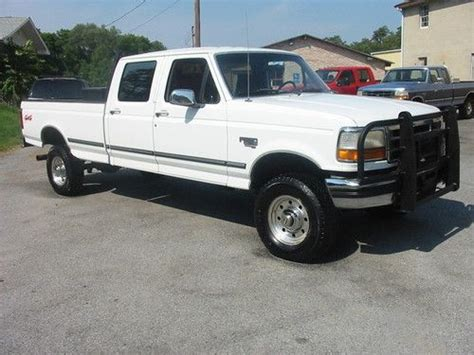 buy car manuals 1997 ford f350 auto manual find used 97 ford f350 xlt rare crew 5 speed 7 3 powerstroke diesel texas mint in carlisle