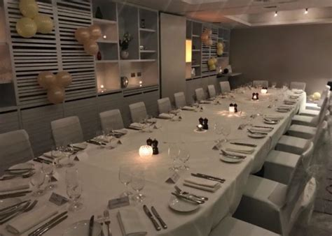 Luxury Private Dining Rooms At Malmaison