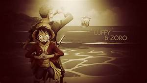 One Piece Luffy and Zoro After 2 Years Wallpaper | Anime ...
