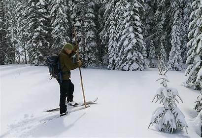 Snow Depth Ski Lake