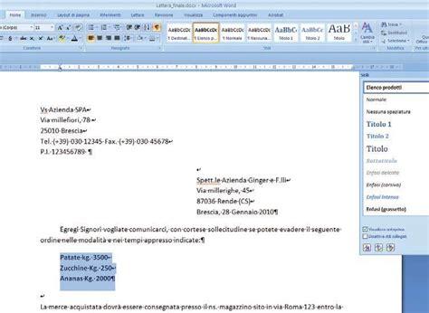 modelli lettere commerciali modello lettera commerciale word guglielminosrl