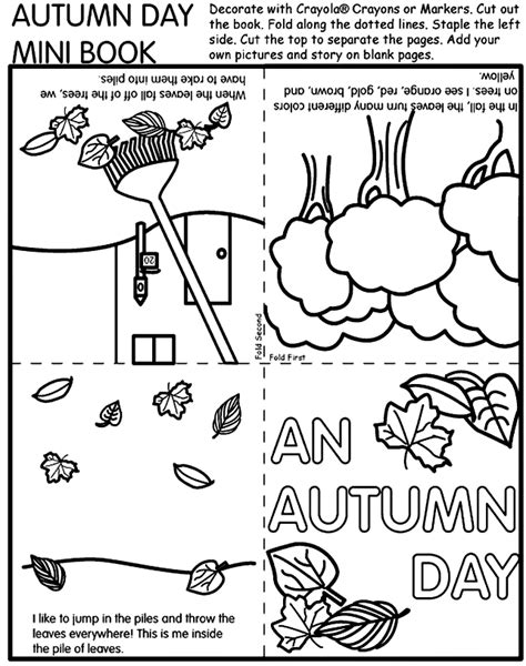 more than today free autumn printables for 538 | minibook