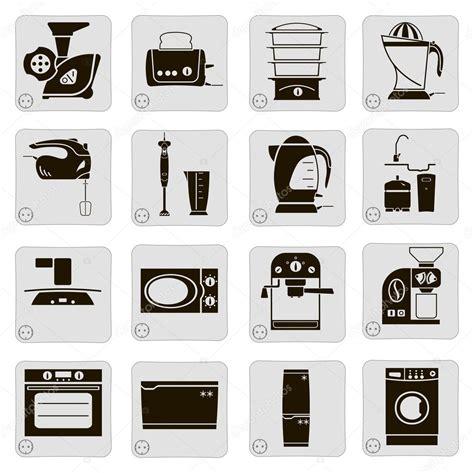 Geräte In Der Küche by Elektrische Ger 228 Te In Der K 252 Che Stockvektor 169 Lapuma