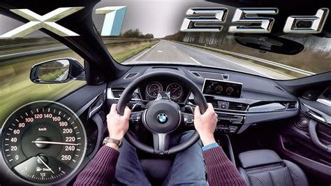 Bmw X1 25d Xdrive Acceleration & Top Speed Pov Test Drive