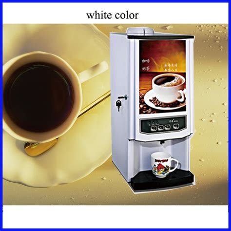 See, work coffee doesn't have to come from some pot churning noisily in the break room — the kind of machine that makes employees stare longingly out the window in the direction of the nearest starbucks. Three raw materials fully automatic vending coffee machine korean coffee machine commercial for ...
