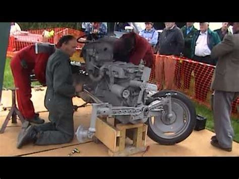 llanfair caereinion show ferguson ferguson te 20 tractor re build