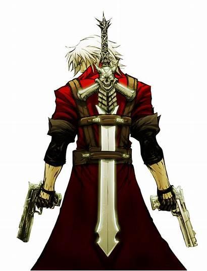 Render Devil Cry Dante Invisivel Fundo Epee