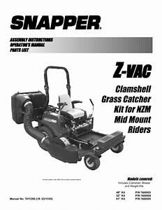 Z-vac 7600004 Manuals