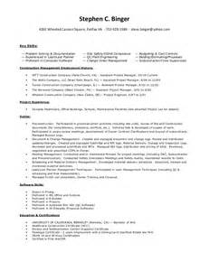 listing projects on resume steve binger resume project list