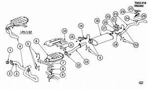 Chevrolet S10 Bracket  Catalytic Converter  Bracket  Ctltc