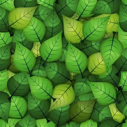 Leaves Spring Background Seamless Vector Illustration Cartoon