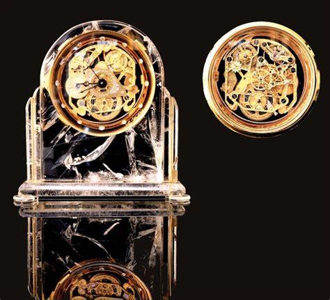 haute horlogerie horloge 171 la vallee 187 cristal de roche