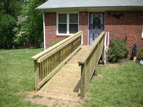 build  wheelchair ramp decking  mobile homes handicap ramps wheelchair ramp